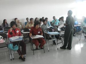 Diklat Guru IPA SMP di LPMP Kalbar